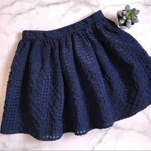 Forever 21 Girls blue skirt 7/8